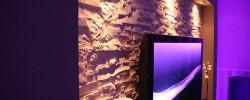 Lichtdesign Lichtkonzepte RGB Stripe LED Spot